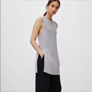 Aritzia Wilfred Palmier Sweater Tunic New $125